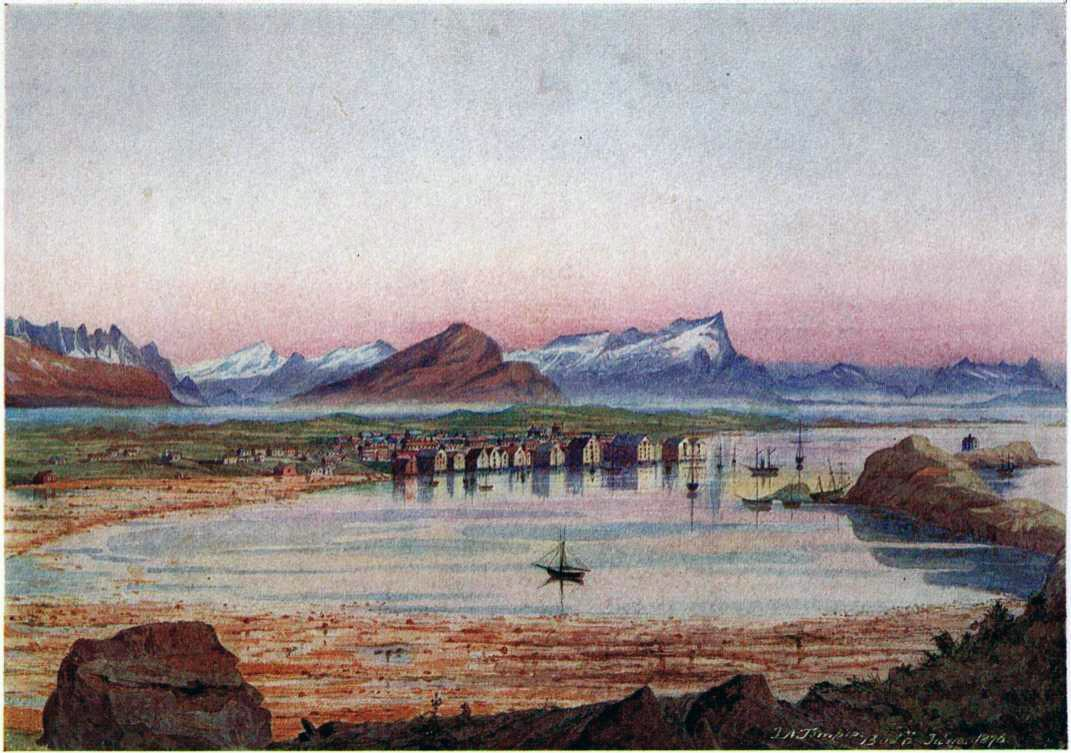 Bodø 1876 - D.A. Thompson